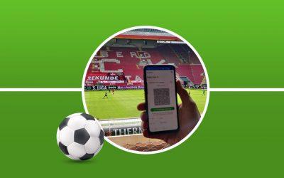 ImpfPassDE erfolgreich im Test beim 1. FC Kaiserslautern